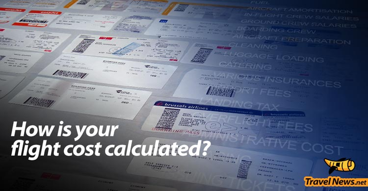 How is your flight cost calculated?