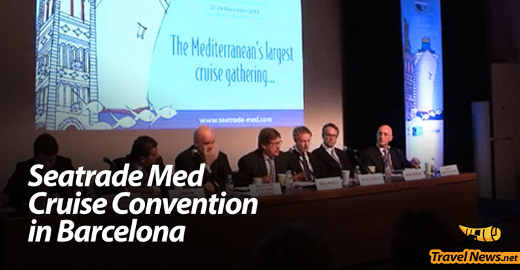 Seatrade Med Cruise Convention sets sail in Barcelona Sept. 16-18