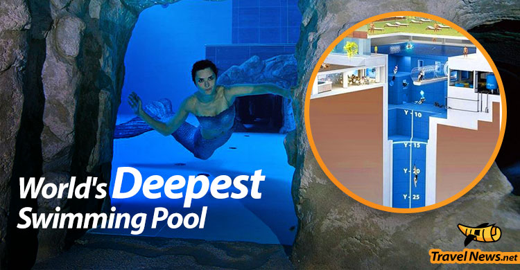 World's Deepest Pool Opens in Italy