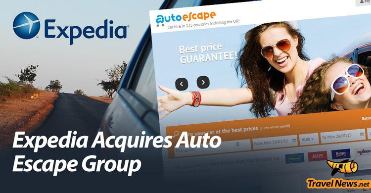 Expedia Acquires European Car-Rental Company Auto Escape Group