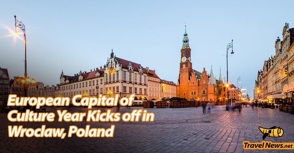 European Capital of Culture Year Kicks off in Wroclaw, Poland